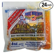 Great Northern Case (24) of Four Ounce Portion Popcorn Packs (DTXINT039)