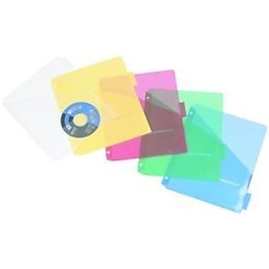 Filexec Products iFile Poly Pocket Divider 5 Tab 8.5x11 Asst (DGC12823)