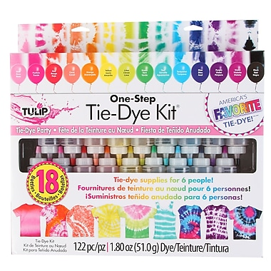Tulip One-Step Tie-Dye 18-Bottle Kit (32378)
