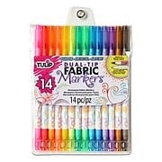 Tulip Permanent Nontoxic Fabric Markers, 14 Pack (31960)