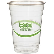Eco-Products GreenStripe Cold Cups, 16 Oz., Transparent/Green, 500/Carton (EP-CC16-GS)
