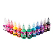 Puffy 3D Nontoxic Multi-Surface Paint, 12 Pack (26252)