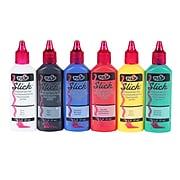 Tulip Slick Dimensional Nontoxic Fabric Paint, 6 Pack (00825)