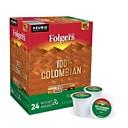 Folgers Colombian Decaf, Keurig K-Cup Pods, Medium Roast, 24/Box (5000053359)