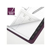"""2022 AT-A-GLANCE 9"""" x 11"""" Monthly Planner, Contemporary, Merlot (70-250X-50-22)"""