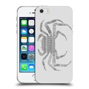 Official FLORENT BODART ANIMAL LINES Crab Grey Soft Gel Case for Apple iPhone 5 / 5s / SE (C_D_1AF77)