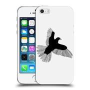 Official FLORENT BODART ANIMAL LINES Bird White Soft Gel Case for Apple iPhone 5 / 5s / SE (C_D_1AF72)