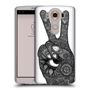 Official JOEL GRATTE BLACK AND WHITE Hand Peace Soft Gel Case for LG V10 (C_19A_1E071)