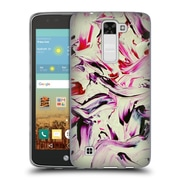 Official DJUNO TOMSNI ABSTRACT Lila Soft Gel Case for LG K7 K330 / Tribute 5 (C_1BE_1BC82)