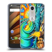 Official DREW BROPHY SURF ART 2 Sunset Sessions Soft Gel Case for DROID Turbo 2 / X Force (C_1C3_1ACD2)