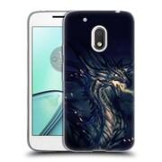Official EXILEDEN FANTASY Dragon Breath Soft Gel Case for Motorola Moto G4 Play (C_1FB_1C83E)