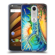 Official DREW BROPHY SURF ART 2 Surfed Out Soft Gel Case for DROID Turbo 2 / X Force (C_1C3_1AE5C)