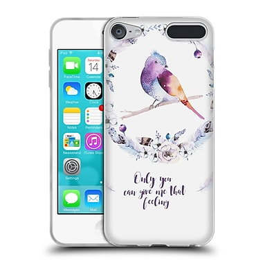 Official KRISTINA KVILIS BIRDS Only You Can Give Me That Feeling Soft Gel Case for Apple iPod Touch 6G 6th Gen (C_157_1DDDB)