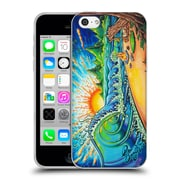 Official DREW BROPHY SURF ART 2 Surfed Out Soft Gel Case for Apple iPhone 5c (C_E_1AE5C)