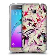 Official DJUNO TOMSNI ABSTRACT Lila Soft Gel Case for Samsung Galaxy J3 (C_1B6_1BC82)
