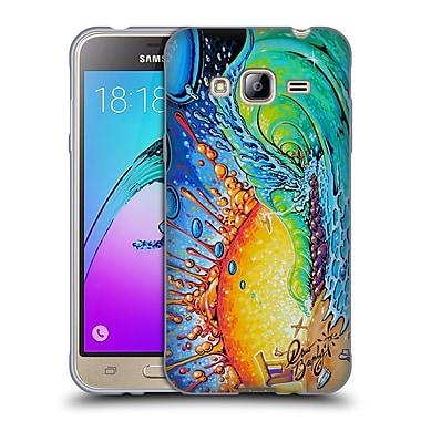 Official DREW BROPHY SURF ART Newport Tube Soft Gel Case for Samsung Galaxy J3 (C_1B6_1ACCC)