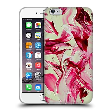Official DJUNO TOMSNI ABSTRACT Cherry Blossom Girl Soft Gel Case for Apple iPhone 6 Plus / 6s Plus (C_10_1BC7B)