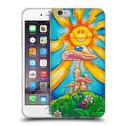 Official DREW BROPHY SURF ART Happy Mushrooms Soft Gel Case for Apple iPhone 6 Plus / 6s Plus (C_10_1ACCB)