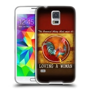 Official JOEL CHRISTOPHER PAYNE LOVE The Bravest Thing Soft Gel Case for Samsung Galaxy S5 / S5 Neo (C_AB_1B3FC)