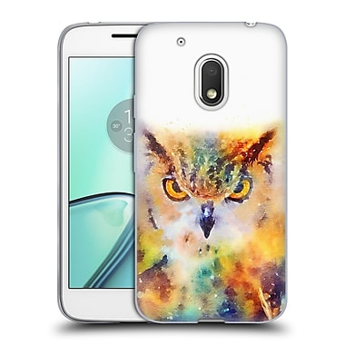 Official JACQUELINE MALDONADO ANIMALS The Wise Soft Gel Case for Motorola Moto G4 Play (C_1FB_1BDE5)