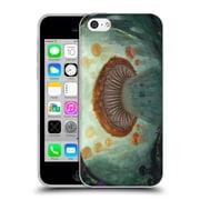 Official JOEL GRATTE ILLUSTRATION Castle Soft Gel Case for Apple iPhone 5c (C_E_1E07C)