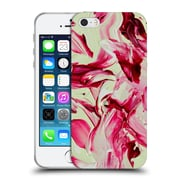 Official DJUNO TOMSNI ABSTRACT Cherry Blossom Girl Soft Gel Case for Apple iPhone 5 / 5s / SE (C_D_1BC7B)
