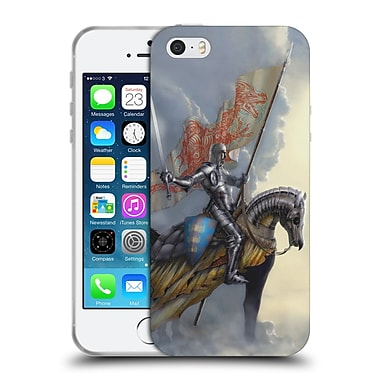Official LA WILLIAMS KINGDOM Arthur Vertical Soft Gel Case for Apple iPhone 5 / 5s / SE (C_D_1D58E)