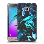 Official DJUNO TOMSNI ABSTRACT Deep Blue Soft Gel Case for Samsung Galaxy J3 (C_1B6_1BC7D)