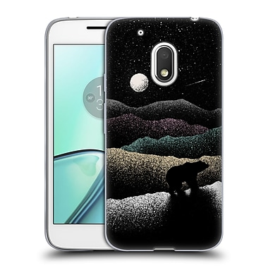 Official FLORENT BODART LANDSCAPES Wandering Bear Soft Gel Case for Motorola Moto G4 Play (C_1FB_1AFAC)