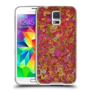 Official JOEL GRATTE COLOURS Pink Squirm Soft Gel Case for Samsung Galaxy S5 / S5 Neo (C_AB_1E078)