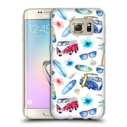 Official KRISTINA KVILIS PATTERN Beach Soft Gel Case for Samsung Galaxy S7 edge (C_1BA_1DE14)