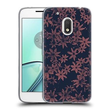 Official FLORENT BODART PATTERNS Flowers At Dawn Soft Gel Case for Motorola Moto G4 Play (C_1FB_1AFBB)