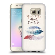 Official KRISTINA KVILIS FEATHERS Your Vibe Soft Gel Case for Samsung Galaxy S7 edge (C_1BA_1DE04)