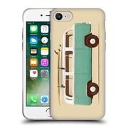 Official FLORENT BODART VEHICLES Blue Van Soft Gel Case for Apple iPhone 7 (C_1F9_1AFD8)