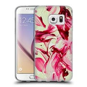 Official DJUNO TOMSNI ABSTRACT Cherry Blossom Girl Soft Gel Case for Samsung Galaxy S7 (C_1B9_1BC7B)