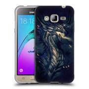 Official EXILEDEN FANTASY Dragon Breath Soft Gel Case for Samsung Galaxy J3 (C_1B6_1C83E)