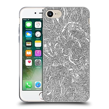 Official JOEL GRATTE BLACK AND WHITE Creative Thoughts Soft Gel Case for Apple iPhone 7 (C_1F9_1E06D)