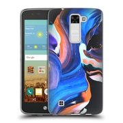 Official DJUNO TOMSNI ABSTRACT 2 Waves Soft Gel Case for LG K7 K330 / Tribute 5 (C_1BE_1BC8F)
