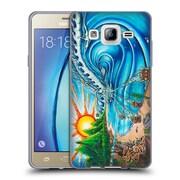 Official DREW BROPHY SURF ART 2 Wall of Skulls Soft Gel Case for Samsung Galaxy On5 (C_1B7_1ACD8)