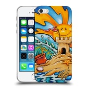 Official DREW BROPHY SURF ART Sand Castle Soft Gel Case for Apple iPhone 5 / 5s / SE (C_D_1ACCF)