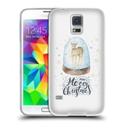 Official KRISTINA KVILIS CHRISTMAS Deer 2 Soft Gel Case for Samsung Galaxy S5 / S5 Neo (C_AB_1DDE6)
