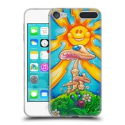 Official DREW BROPHY SURF ART Happy Mushrooms Soft Gel Case for Apple iPod Touch 6G 6th Gen (C_157_1ACCB)