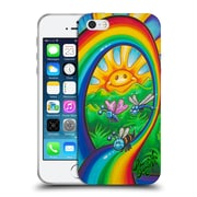 Official DREW BROPHY SURF ART Rainbow Ride Soft Gel Case for Apple iPhone 5 / 5s / SE (C_D_1ACCE)