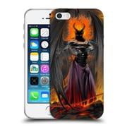 Official LA WILLIAMS FANTASY Lucifer Standing Soft Gel Case for Apple iPhone 5 / 5s / SE (C_D_1D583)
