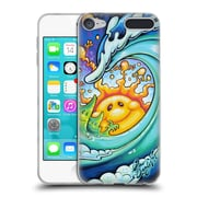 Official DREW BROPHY SURF ART Feeling Happy Soft Gel Case for Apple iPod Touch 6G 6th Gen (C_157_1ACC9)