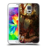Official JOEL GRATTE ILLUSTRATION Wooden Knight Soft Gel Case for Samsung Galaxy S5 / S5 Neo (C_AB_1E086)