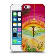 Official DREW BROPHY SURF ART She Walks On Water Soft Gel Case for Apple iPhone 5 / 5s / SE (C_D_1ACD0)