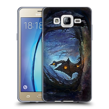 Official JOEL GRATTE ILLUSTRATION House In The Woods Soft Gel Case for Samsung Galaxy On5 (C_1B7_1E081)