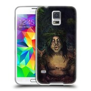 Official JOEL GRATTE ILLUSTRATION Shaman Soft Gel Case for Samsung Galaxy S5 / S5 Neo (C_AB_1E083)