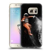 Official FLORENT BODART SPACE Astronaut Soft Gel Case for Samsung Galaxy S7 edge (C_1BA_1AFCE)